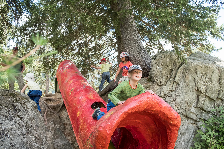 10-jähriges Jubiläum des Zauberwaldes in Ernen - Wasen