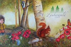 Postkarte 02: Brüna und ihre Freunde